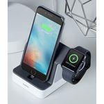 Statie de încărcare Belkin, pentru Apple Watch 1 2 3 4 5 și iPhone X, iPhone XS, XS Max, iPhone 11, 11 Pro, 11 Pro Max - negru