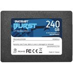 Solid-State Drive SSD Patriot Burst 2.5 240GB SATA3 PBU240GS25SSDR